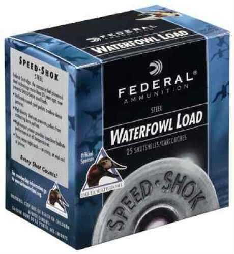 Federal Cartridge SPDSHK 12 GA 11/8 STL Per 25 Ammunition Case Price 250 Rounds WF143T