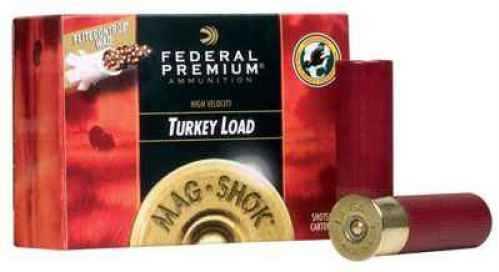 """Federal Cartridge Federal Mag Shok 12 GA 3 1/2"""" 2 1/4 oz # 5 Turkey Per 10 Ammunition PFC135F5"""