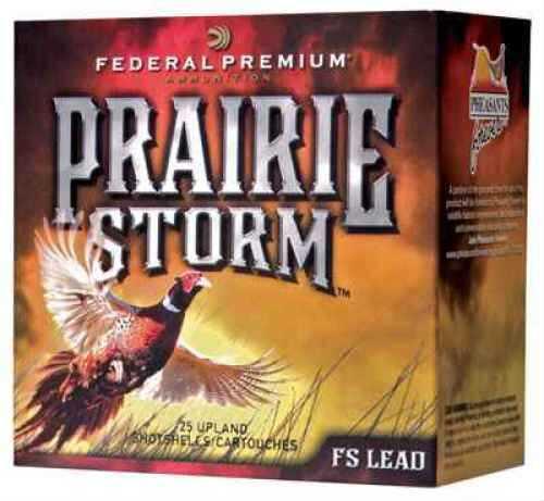 Federal Cartridge Prairie Storm 20 GA 1oz Per 25 Ammunition Case Price 250 Rounds PF204FS4