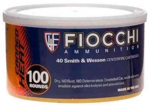 Fiocchi Ammo FiocchiI 40 S&W 180 FMJFN CAN Per 100 Ammunition 40CSWD