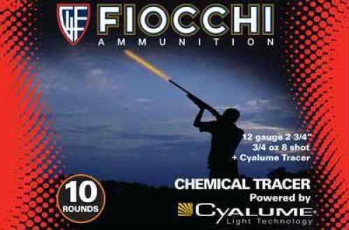 Fiocchi Ammo FiocchiI CHEMITRACE 12 Ga 7.5 BOX Per 10 Ammunition 12CYL