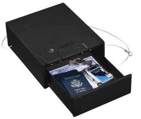 Stack-On ELECTRONIC QUICK ACCESS DRAWER SAFE Gun Safe Black QAS1000