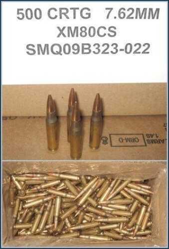 Federal Cartridge Federal XM80CS Standard 7.62mmX51mm Full Metal Jacket 149 GR 1000 Rounds (Case Price) XM80CX
