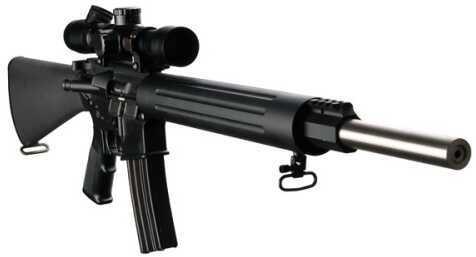 "DPMS Bull 20 AR-15 223 Remington/5.56 NATO 20"" Barrel 10 Round A2 Black CA Legal Semi Automatic Rifle RFTLBULL20"