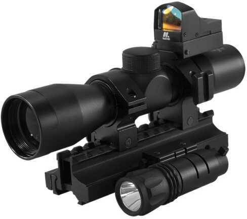 NcStar Scope Combo Tactical Triple Threat Combo KARSCRDF