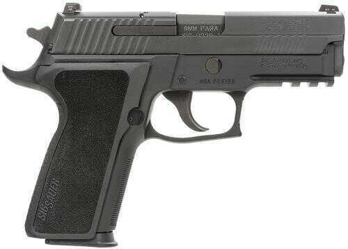 "Pistol Sig Sauer P229 Enhanced Elite *CA Apprvd* 9mm Luger 3.9"" 10+1 Ergo Grip Black 229R9ESECA"
