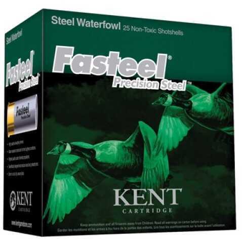 """Kent Cartridges Kent Cartridge Fasteel 2.75"""" 12 Gauge 2.75"""" 1.1 oz 3 Shot 25Box/10Case K122ST303"""
