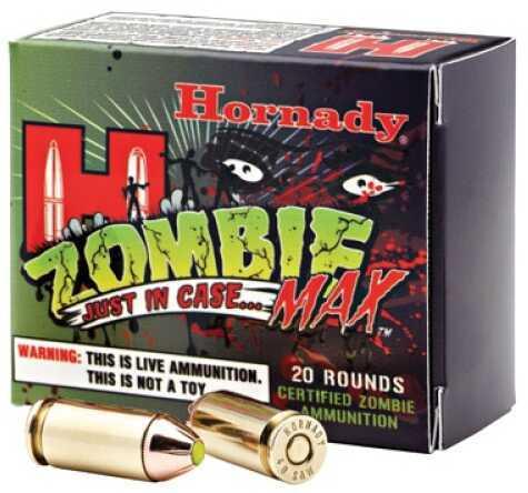 Hornady Zombie 45auto 185gr Zmax 20bx 90902