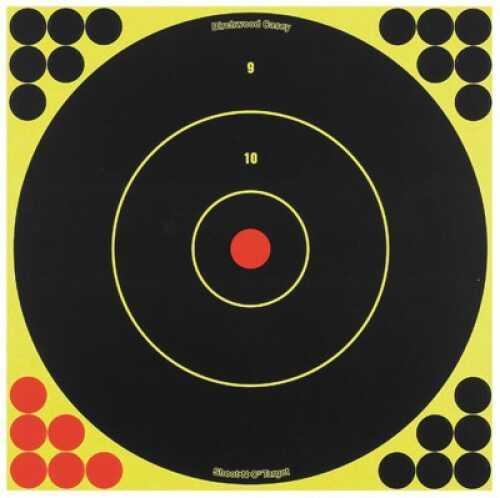"""Birchwood Casey B Casey Shoot-N-C 12"""" Bullseye 5Pk"""