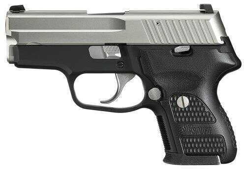 "Pistol Sig Sauer P224 Standard 9mm Luger 3.5"" 10+1 Wood Grip Nickel Finish 224357NSS"