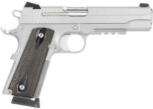"Sig Sauer 1911 45ACP 5"" Barrel 8 Round Wood Grip 2-Tone Semi Automatic Pistol CA Legal 1911R45SSSCA"