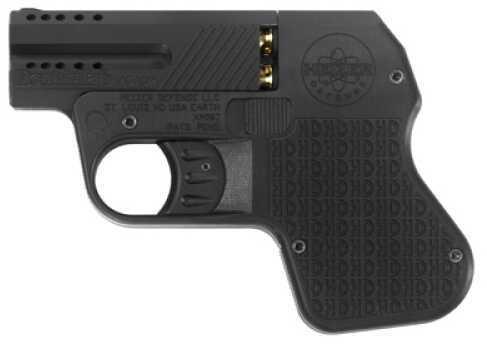 "Doubletap Defense Heizer Firearms Aluminum Ported 9mm Luger 3"" Barrel 3 Round Integral Grip Pistol DT009011"