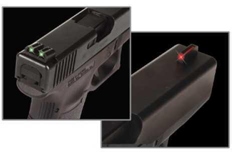 Truglo Brite Site Fiber Optic Sig Sauer Black TG131S2