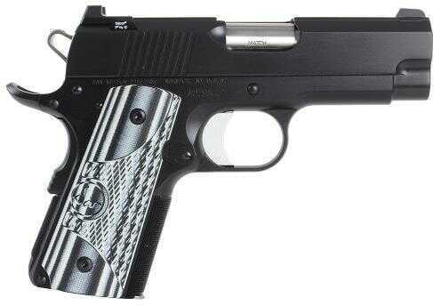 "Dan Wesson Compact ECO 9mm Luger 4.3"" Barrel 8 Round Black Semi Automatic Pistol 01968"