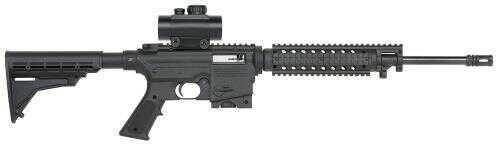 "Mossberg Rifle715 Tactical Semi Automatic Rifle 22 Long Rifle 16.25"" Barrel  30mm Red Dot Sight  10 Round 37231"