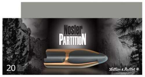 MagTech Ammunition Co. Magtech NPart 270 Winchester Nosler Partition 130 GR 20Box/10Case V340342U
