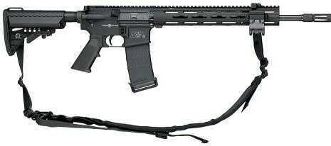 "Rifle Smith & Wesson M&P15 VTACII, 5.56 16"" Black 30 Round 811025"