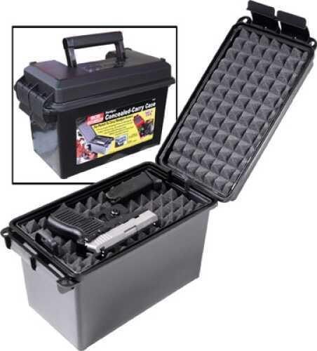 MTM Handgun Conceal Carry Case Red HCC-40