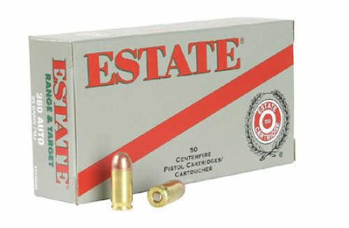 Estate Cartridge 38 Special Full Metal Jacket 130 GR 50Box ESH38130
