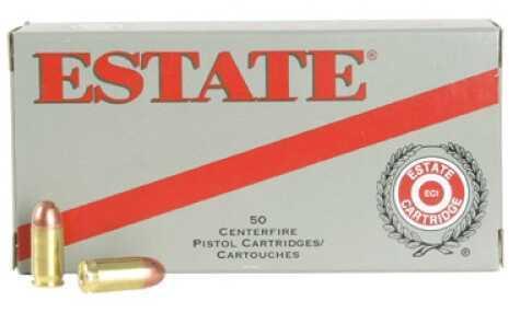 Estate Cartridge Estate Range 40 Smith & Wesson Full Metal Jacket 165 GR 50Box SKU:SS_80266 ESH40165