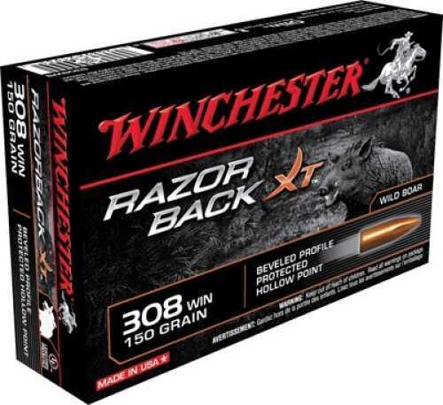 Winchester RAZORBACK XT 308 150GR 20BX S308WB