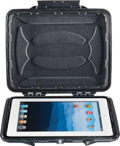 Pelican HardBack Tablet/eReader Case Watertight/Crushproof Black w/Liner 1065CC