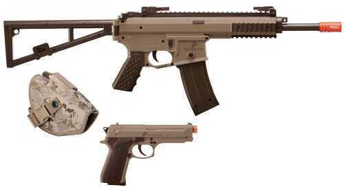 Crosman Marines Air Rifle Kit Spring 6mm Airsoft Two Tone MCKT01