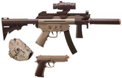 Crosman Marines Air Rifle Kit Semi-Auto 6mm Airsoft Two Tone MCKT03