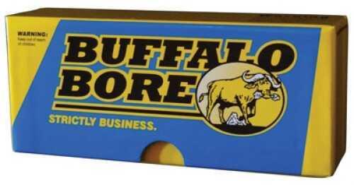 Buffalo Bore Ammunition Rifle 308 Win (7.62 NATO) BTHP 175 GR 20 Rds S308175