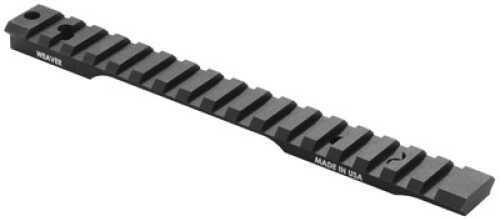 Weaver Extended Multi-Slot Base Remington 700 SA - Made of 6061-T6 Aluminum with matte Type III hard coat a 99500
