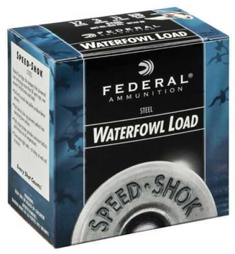 """Federal Cartridge Speed-shok Waterfowl 12 Ga 3"""" 1.1 Oz 1 Shot Case Price 250 Rounds WF1431"""