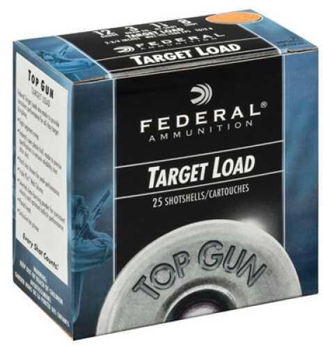 """Federal Cartridge Standard Top Gun Target 12 ga 2.75"""" 1 oz 7.5 Shot 25Bx/10Cs Case Price 250 Rounds TG1228"""
