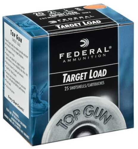 """Federal Cartridge 20 Ga 2.75"""" 7/8 Oz 7.5 Shot Standard Top Gun Target Case Price 250 Rounds TG2075"""