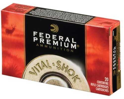 Federal Cartridge Federal Vital-Shok 270 Win Short Mag Trophy Copper 130 GR 20Box/10Case P270WSMTC1