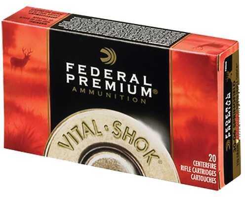 Federal Cartridge Federal P3006T5 Vital-Shok 30-06 Springfield Trophy Bonded Bear Claw 200 Gr 20Bx