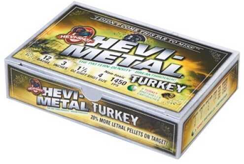 "Hevi-Shot Turkey 3"" 12ga 4/6 1oz 5/20 32045"