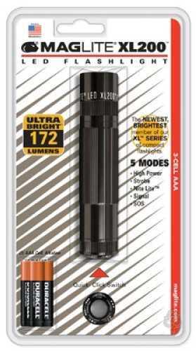 Maglite XL XL100 3 AAA Black XL200S3016