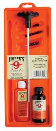 Hoppes Clamshell Kit w/Aluminum Rod .38, 357, 9mm Caliber Pistol PCO38B