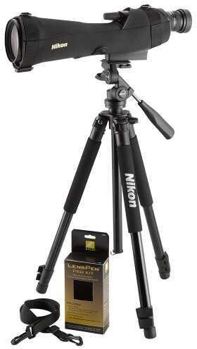 Nikon Prostaff 5 20-60x82mm Scope Combo Outfit Matte Black Md: 6982