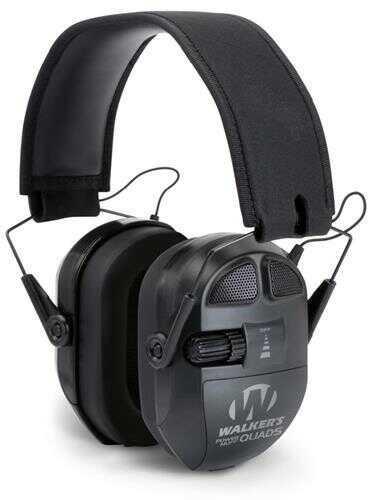 Walker's Game Ear / GSM Outdoors Walker Gwpxpmqb Ultimate Power Muff Quad