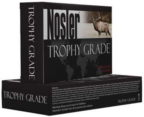Nosler Trophy 375 H&H Mag 300GR AccuBond 20Box Ammunition 60070