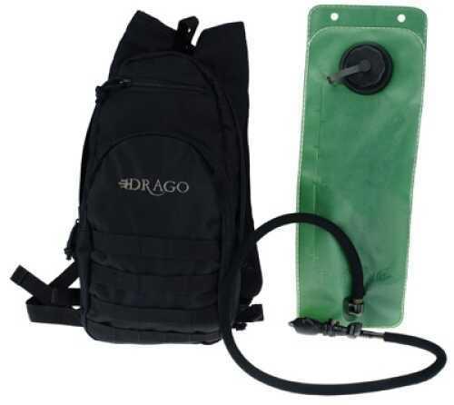 DRAGO GEAR Hydration Pack 600 Denier Polyester Black 11301BL