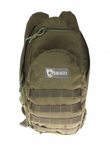 Drago Gear Hydration Pack 600 Denier Polyester Green 11301GR