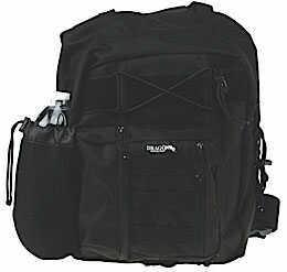 DRAGO GEAR Spec Combat Backpack 600 Denier Polyester Black 14304BL