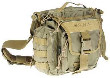 DRAGO GEAR Officer Shoulder Pack 840D Nylon Tan 15302TN
