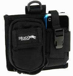 DRAGO GEAR Recon Camera Utility Phone & Recon Case 600D Polyester Tan 16303TN