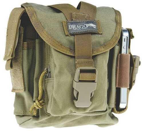 Drago Gear Patrol Pack Belt Bag Reinforced Webbing Tan 16302TN