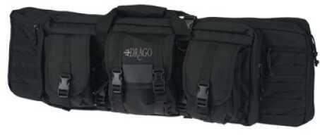 """DRAGO GEAR Tactical Gun Case 36"""" 600 Denier Polyester Black 12302BL"""