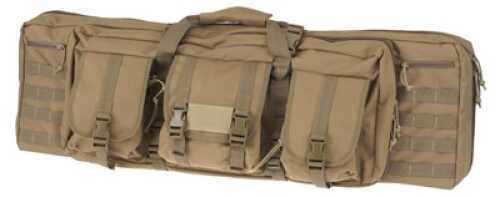 """DRAGO GEAR Tactical Gun Case 36"""" 600 Denier Polyester Tan 12302TN"""