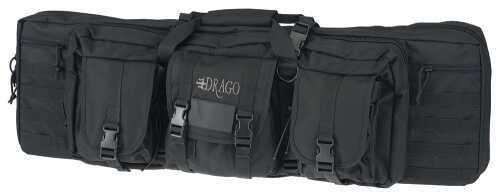 """Drago Gear Tactical Double Gun Case 36"""" 600D Polyester Black 12301BL"""